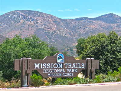 Figure 18.7. View to the Cowles Mountain Range in Mission Trails Regional Park.